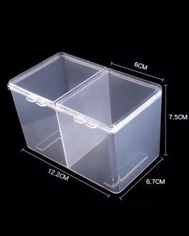 קופסה 2 תאים לפד ללא סיבים