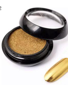 אבקה מטאלית 2 זהב כהה