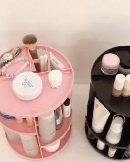 סטנד 360 לאחסון מוצרים צבע לבן