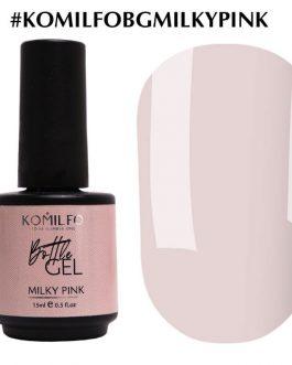 Bottle Gel Milky Pink 15 ml Komilfo