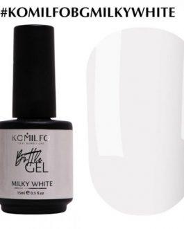 Bottle Gel Milky White 15 ml Komilfo
