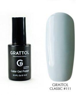 לק ג׳ל גרטול 9ml grattol 111