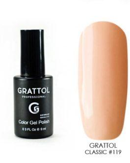 לק ג׳ל גרטול 9ml grattol 119