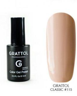 לק ג׳ל גרטול 9ml grattol 115
